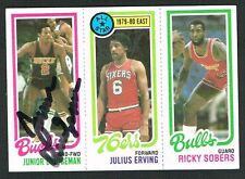 Junior Bridgeman #146 signed autograph 1980-81 Topps Basketball Trading Card
