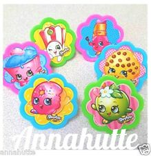 NEW Shopkins Cupcake Topper Rings 36count