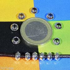 110 Tubi 6x3mm T522X Argento Tibetano Beads Perle Perline Distanziatori Conti