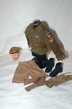 1/6 WW2 BRITISH Guardie Scozzesi LONG RANGE DESERTO gruppo LRDG UNIFORME BERRETTO LOTTO