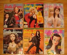 Lot of 6 BARBIE BAZAAR Doll Collector's Magazines 6 issues Full Year 2000
