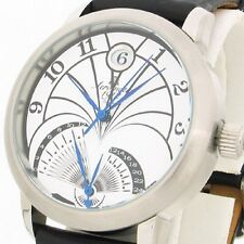 FLY-BACK RETROGRADE GMT (2nd Time Zone)DATE Unisex A1243