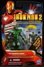"2010 HASBRO IRON MAN 2 TITANIUM MAN 4"" SCALE ACTION FIGURE MOC"
