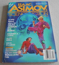 ISAAC ASIMOV SCIENCE FICTION MAGAZINE N°13..Ed US..STANWICK..MACLEAD..STEELE