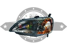 HONDA CIVIC ES SEDAN 10/2000-12/2002 HEADLIGHT LEFT HAND SIDE