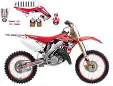 Kit Deco Complet Replica 2014 Blackbird Honda Muscle Milk CR250R 2002-2007 02-07