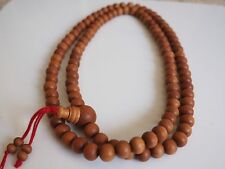 10mm Genuine Fragrant Sandalwood Mala Buddhist Prayer Beads Rosary India