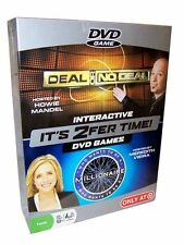 It's 2Fer Time! 2 For 1 Interactive DVD Games