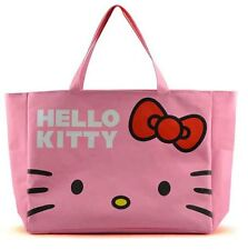 HelloKitty Travel Luggage Big Bag Totes Shoulder Shopping Handbag L03 Pink