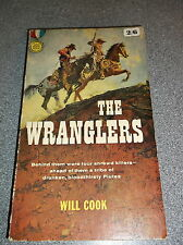 THE WRANGLERS by WILL COOK P/B FREDERICK MULLER - GOLD MEDAL 1961