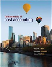 ACCOUNTING Textbook Fundamentals of Cost Accounting Maher Lanen Anderson