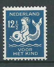Nederland 1929 Kinderzegel NR.228 ongebruikt mooi zegel!