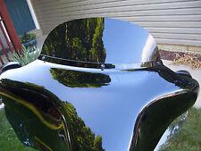 """Harley Davidson 8"""" dark tinted windshield Street Glide/Electra Glide 2014-2016"""