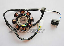 AC Magneto Stator Gy6 125cc 150cc 8 coil 8 Pole 5 wire ATVS Go Kart Scooters