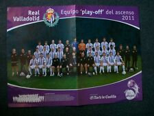 Poster Real Valladolid 2011 play off de ascenso