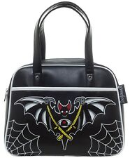 Sourpuss Purse Night Bat Bowler Shoulder Bag Punk Goth Rock Psychobilly SPPU121