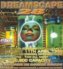 DREAMSCAPE 28 - A DECADE IN DANCE PART 1 (TECHNO & TRANCE CD'S) 11TH APRIL 1998