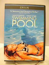 SWIMMING POOL Ludivine Sangier Nude Charlotte Rampling Topless Rated R DVD - USA