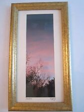 "DIFFILY PHOTOGRAPH ""SUNRISE"" SIGNED & FRAMED - 13"" X 7 1/2"" - TUB PA"