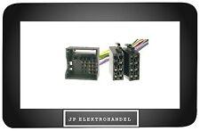 Quadlock ISO Adaptador Enchufe para AUDI SEAT SKODA VW desde 02 de radio Cable