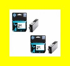 2 orig. Cartuccia HP 364 black Deskjet 3070A 3520 Officejet 4620 4622 MHD 2014