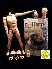 JJ KITS custom* 1/6 - Very Hot - SNIPER - Body + 2 Heads + Costume