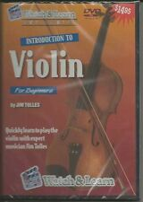 Watch & Learn Introduction to Violin for Beginners DVD