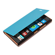 kwmobile Flip Cover Case für Nokia Lumia 730 735 Hellblau Schutz Hülle Etui