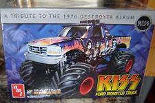 AMT Kiss Ford Monster Truck Model Kit FACTORY SEALED