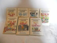 7 Survival Series for Kids Books by Joy Berry with pictures by Bartholomew 1980s
