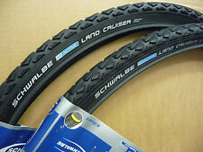 Paire 700x35c Schwalbe land cruiser cycle vélo PNEUS CYCLO CROSS TOUR