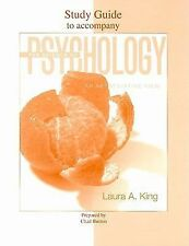 Student Study Guide to accompany The Science of Psychology King, Laura Paperbac
