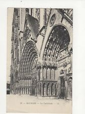 Bourges La Cathedrale 1947 Postcard France 038a