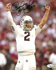 JOHNNY MANZIEL TEXAS A&M AGGIES SIGNED 8X10 PHOTO W/JSA COA #6