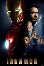 IRON MAN MOVIE POSTER Cast Collage RARE HOT NEW 24X36