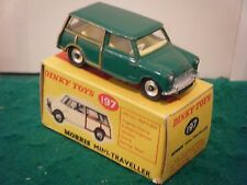 "Dinky No: 197 ""Morris Mini-Traveller"" - DARK GREEN (Original 1960's/RARE)"