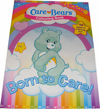 CHILDRENS / KIDS CARE BEARS CAREBEARS COLOURING COLORING BOOK - NEW