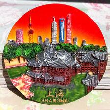 TOURIST SOUVENIR Resin 3D TRAVEL FRIDGE MAGNET --- Shanghai / Shang Hai , China