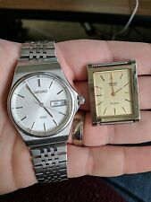 Vintage 2 X Seiko HEQ Watches, Dolce and Spirit, JDM Kanji, for parts/repair