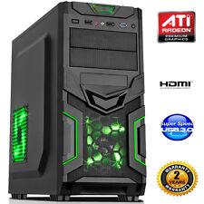 AMD BULLDOZER FX-4300 QUAD CORE 3.8GHZ  8GB DDR3 COMPUTER HDMI USB 3.0 dp33