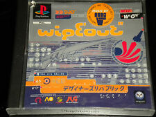 WIPEOUT -  PS1 - Playstation 1 Game - PAL