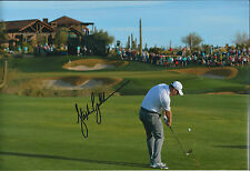 Stephen GALLACHER SIGNED Autograph 12x8 Photo AFTAL COA Dubai Desert Classic