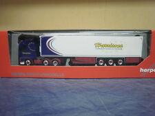 Herpa camión volvo fh4 flaquea/aerop. XL refrigeración-ksz Harrisons