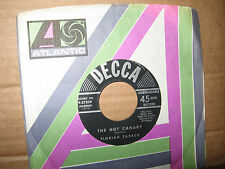 "FLORIAN ZABACH 7"" 45 RPM RECORD THE HOT CANARY B/W JALOUSIE  DECCA"