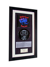 MOTORHEAD Iron Fist CLASSIC CD GALLERY QUALITY FRAMED+EXPRESS GLOBAL SHIPPING