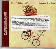 (CY290) James Yorkston, Steady As She Goes - 2006 DJ CD