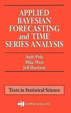 Applied Bayesian Forecasting and Time Series Analysis (Chapman & Hall/CRC Texts