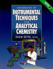 Handbook of Instrumental Techniques for Analytical Chemistry by Settle, Frank A