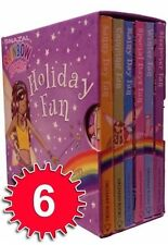 RAINBOW MAGIC 6 BOOKS SET : HOLIDAY FUN POCKET LIBRARY : WH2-R5A : BOX384 : NEW