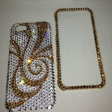 Crystal Gold Bling Case Cover For IPHONE 6s 6 4.7 Made With SWAROVSKI Elements